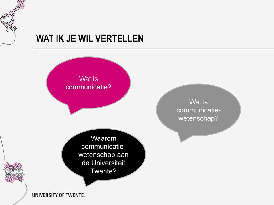 Wat is communicatiewetenschap?