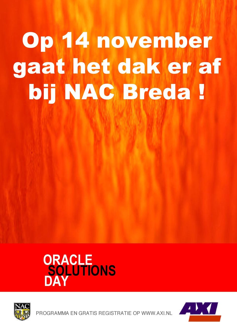 ORACLE ORACLE SOLUTIONS DAY SOLUTIONS DAY PROGRAMMA EN