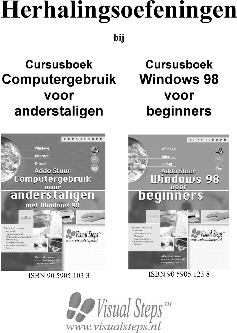 Windows 98 voor beginners ISBN