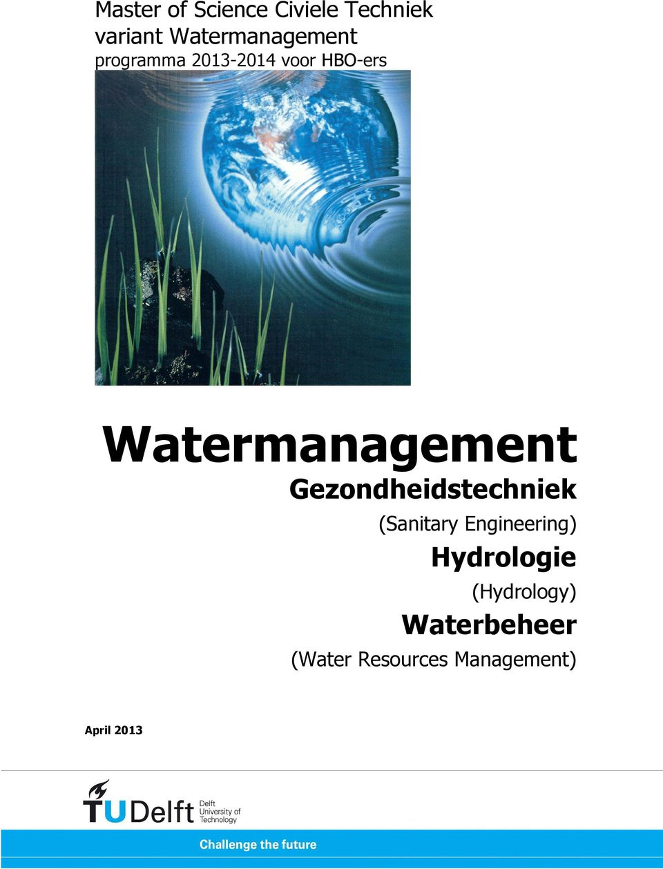 Watermanagement Gezondheidstechniek (Sanitary