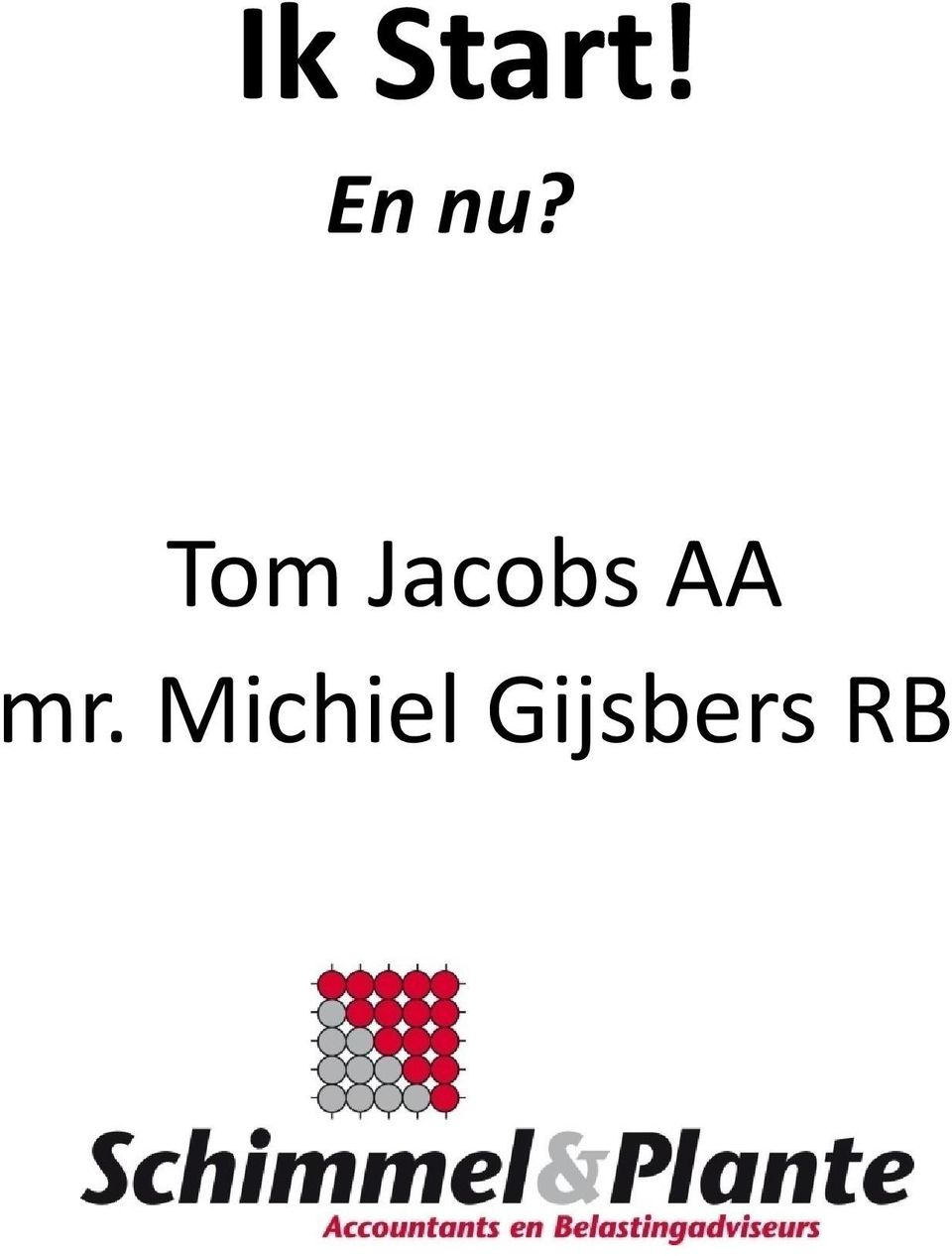 Tom Jacobs AA