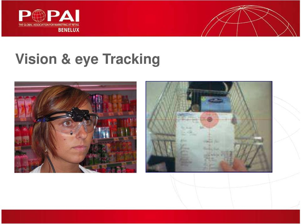 tracking glasses during
