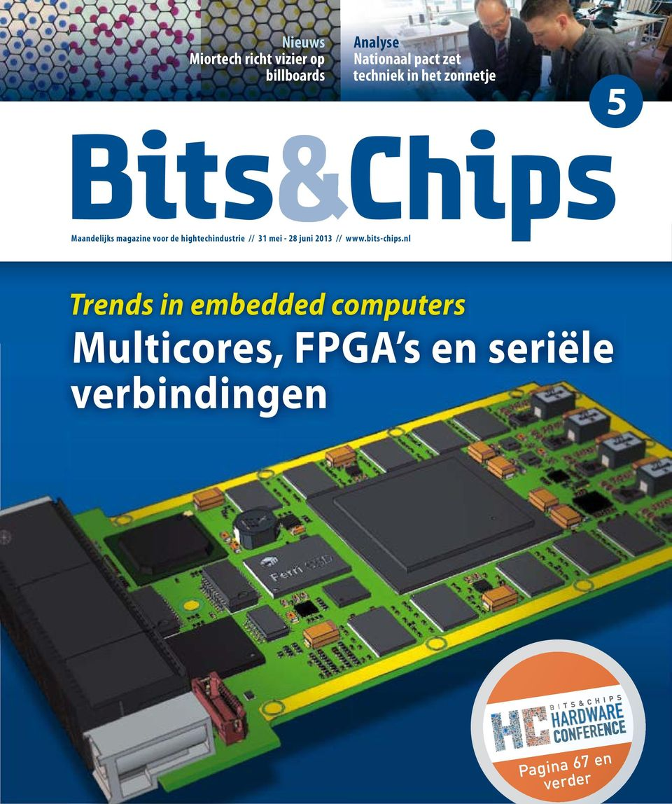 hightechindustrie // 31 mei - 28 juni 2013 // www.bits-chips.