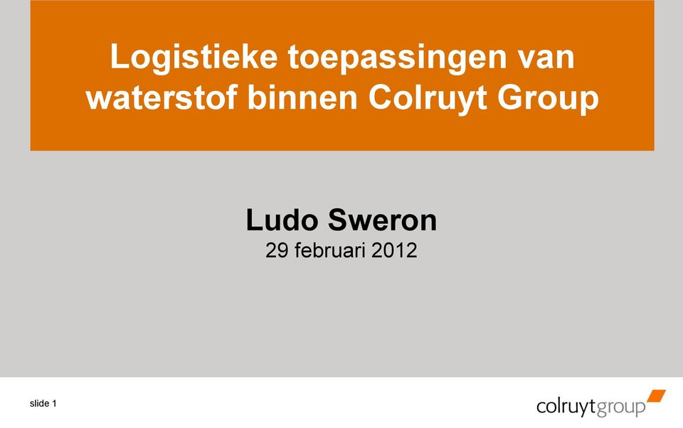 Colruyt Group Ludo