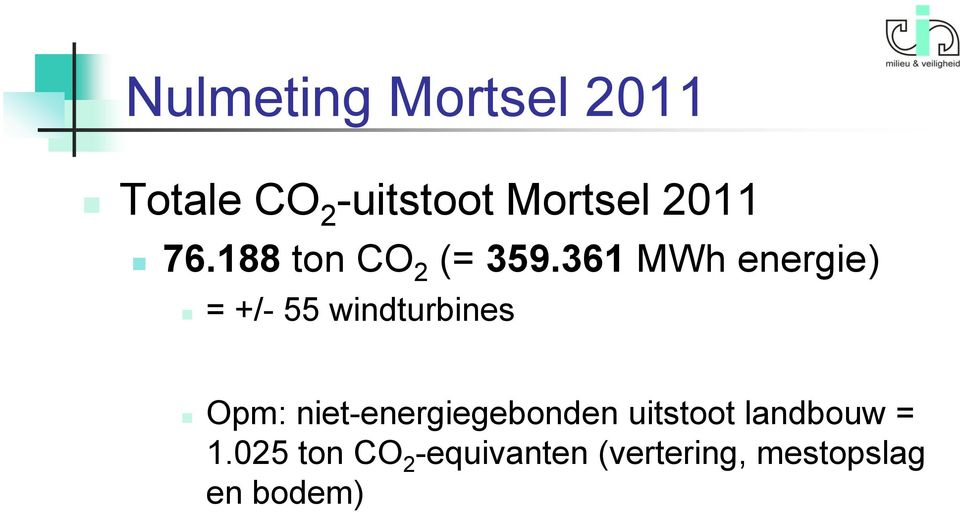 361 MWh energie) = +/- 55 windturbines Opm: