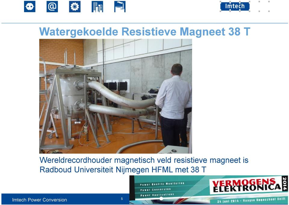 veld resistieve magneet is Radboud