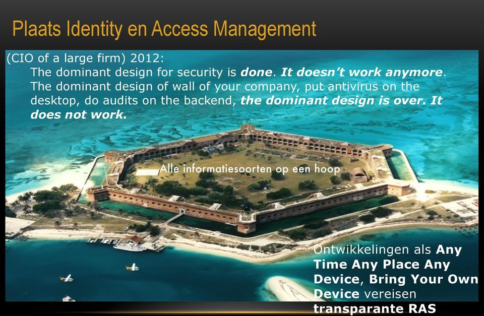 The dominant design of wall of your company, put antivirus on the desktop, do audits on the backend,