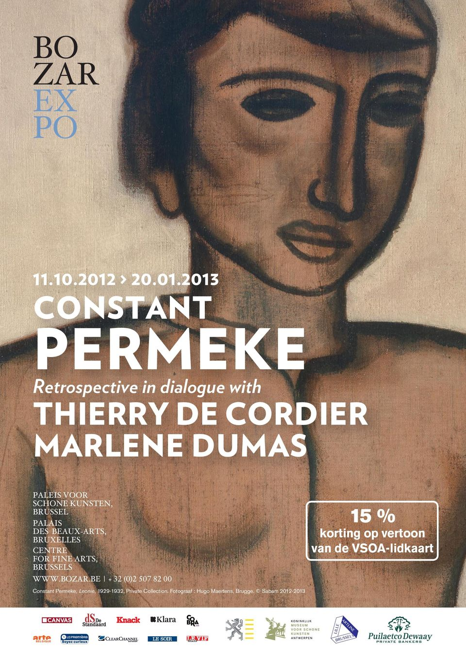 2013 CONSTANT PERMEKE Retrospective in dialogue with THIERRY DE