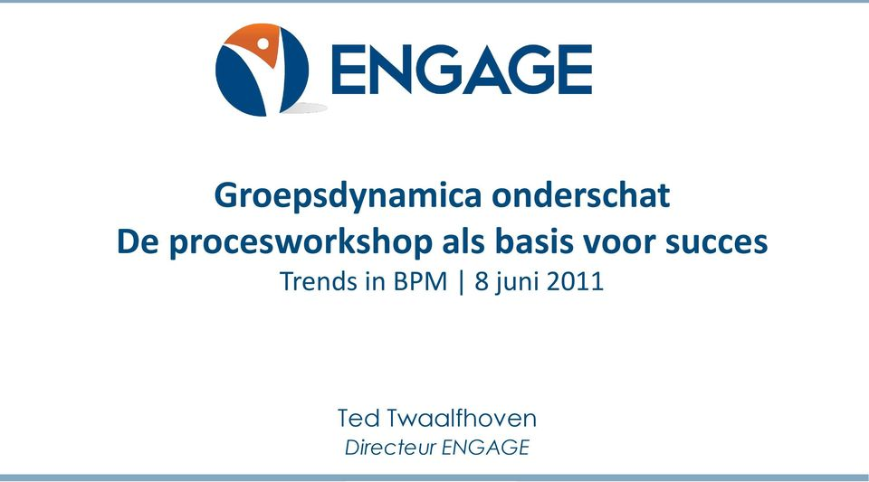 succes Trends in BPM 8 juni