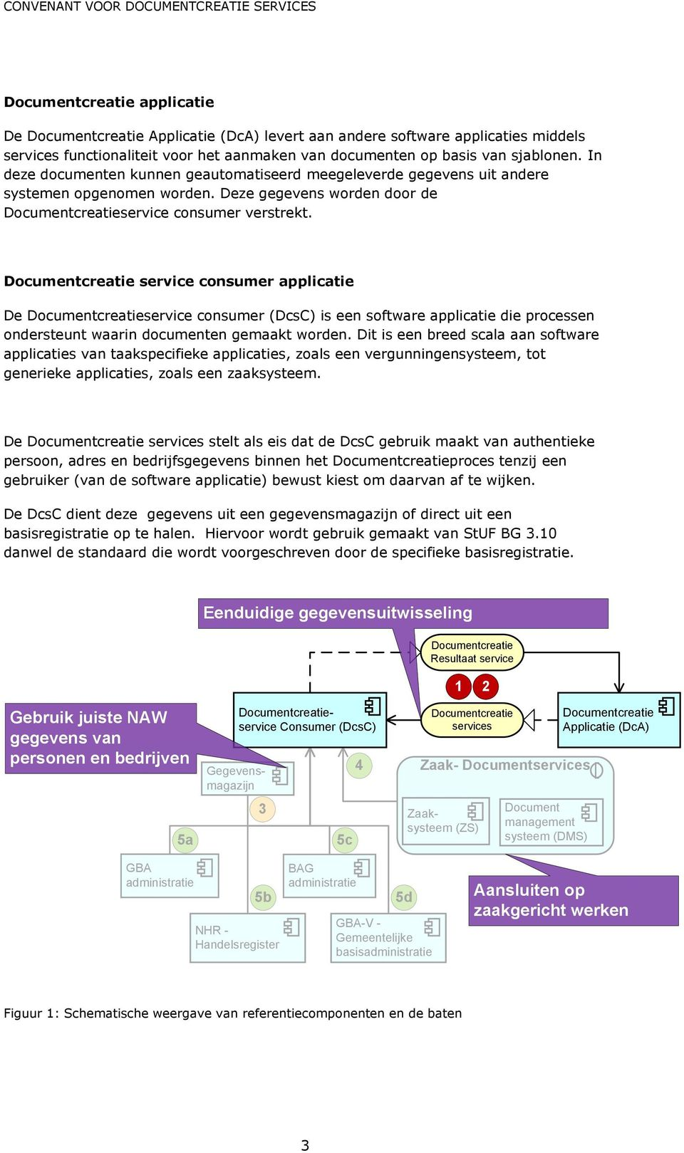Documentcreatie service consumer applicatie De Documentcreatieservice consumer (DcsC) is een software applicatie die processen ondersteunt waarin documenten gemaakt worden.