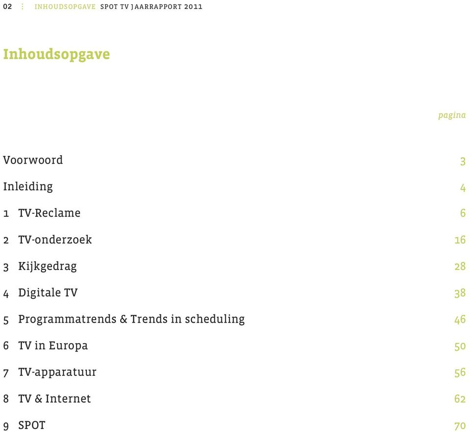Kijkgedrag 28 4 digitale TV 38 5 Programmatrends & Trends in