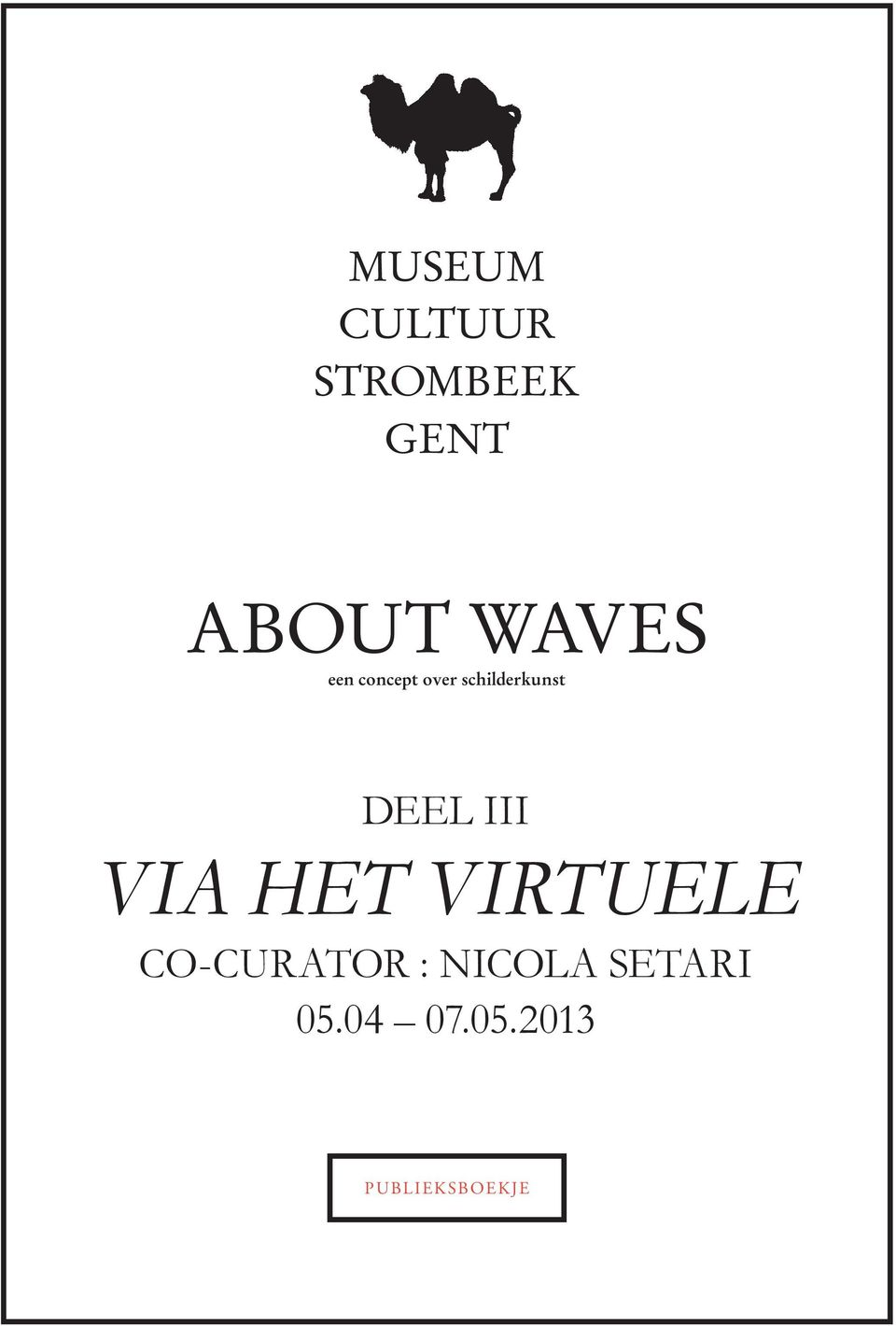 ii VIA RE-FIGURATIE HET VIRTUELE CO-CURATOR