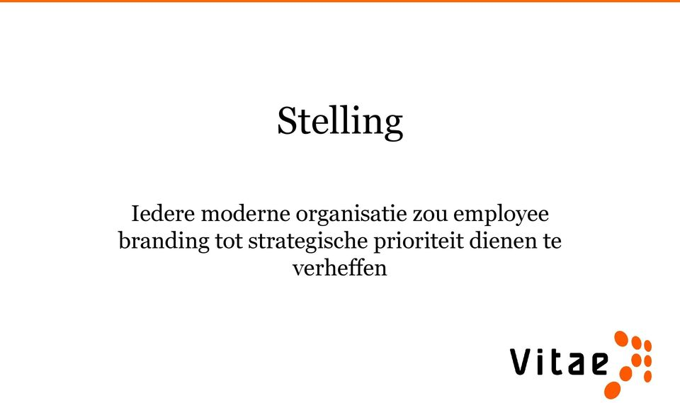 branding tot strategische