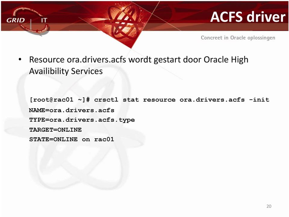 [root@rac01 ~]# crsctl stat resource ora.drivers.