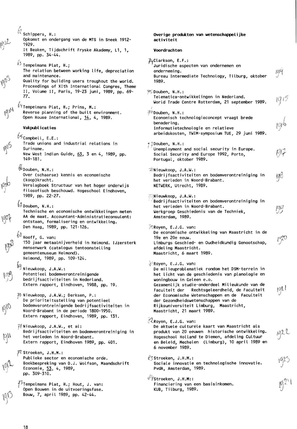 Proceedings of Xlth International Congres, Theme II, Volume II, Paris, 19-23 juni, 1989, pp. 69 77. 6(tTempelmans Plat, H.; Prins, M.: Reverse planning of the built environment.