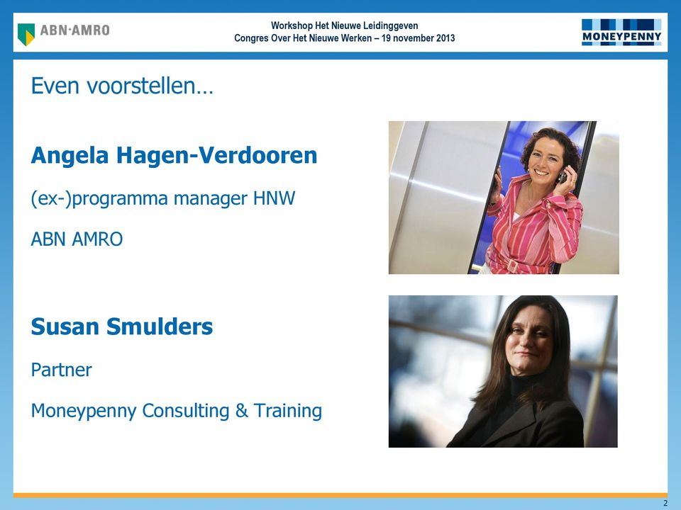 manager HNW ABN AMRO Susan