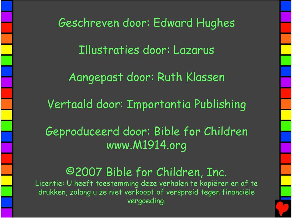 org 2007 Bible for Children, Inc.