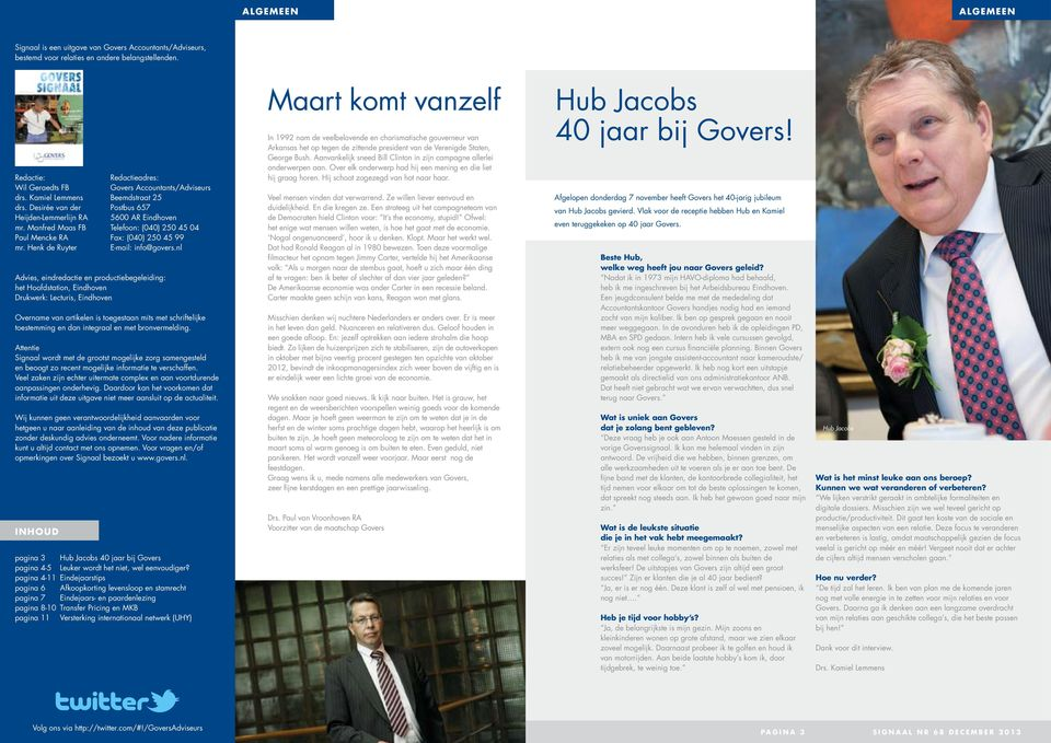 Henk de Ruyter E-mail: info@govers.