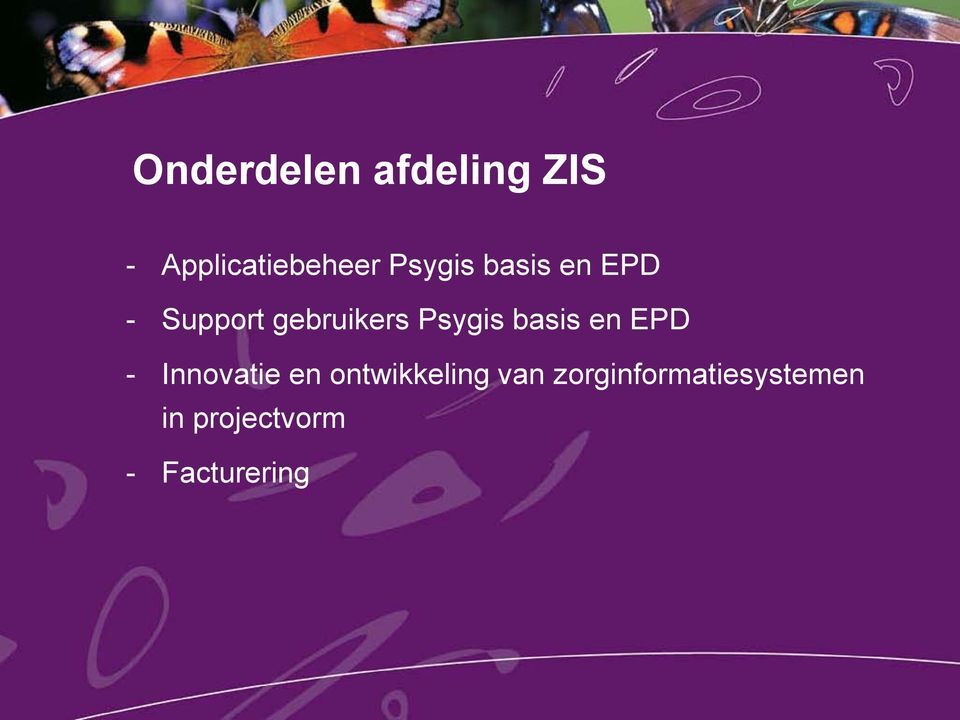Psygis basis en EPD - Innovatie en