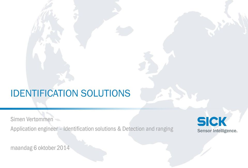 Identification solutions &