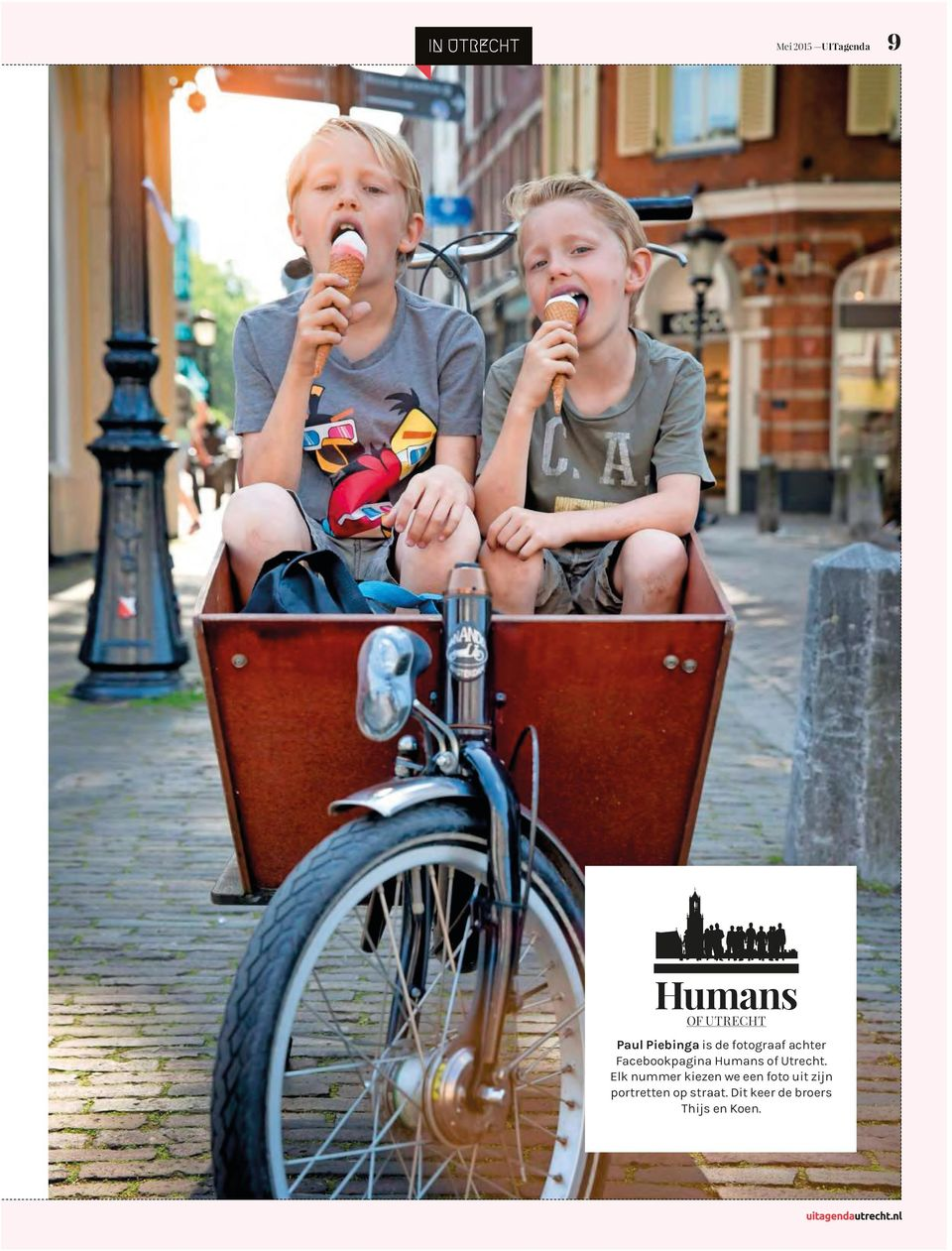 Humans of Utrecht.