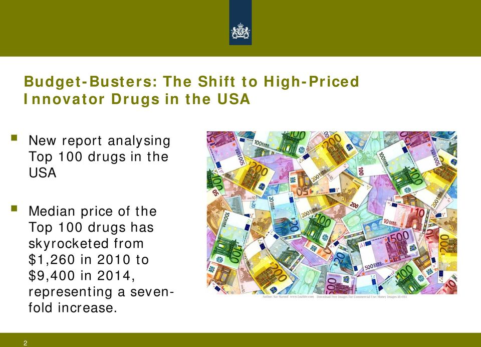Median price of the Top 100 drugs has skyrocketed from