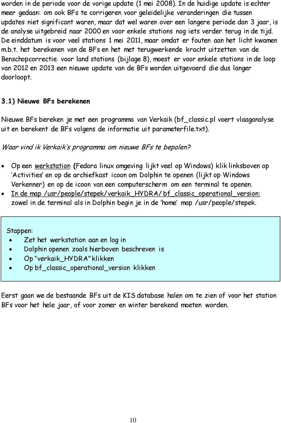 is de analyse uitg
