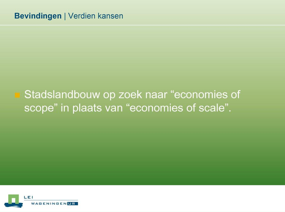 economies of scope in
