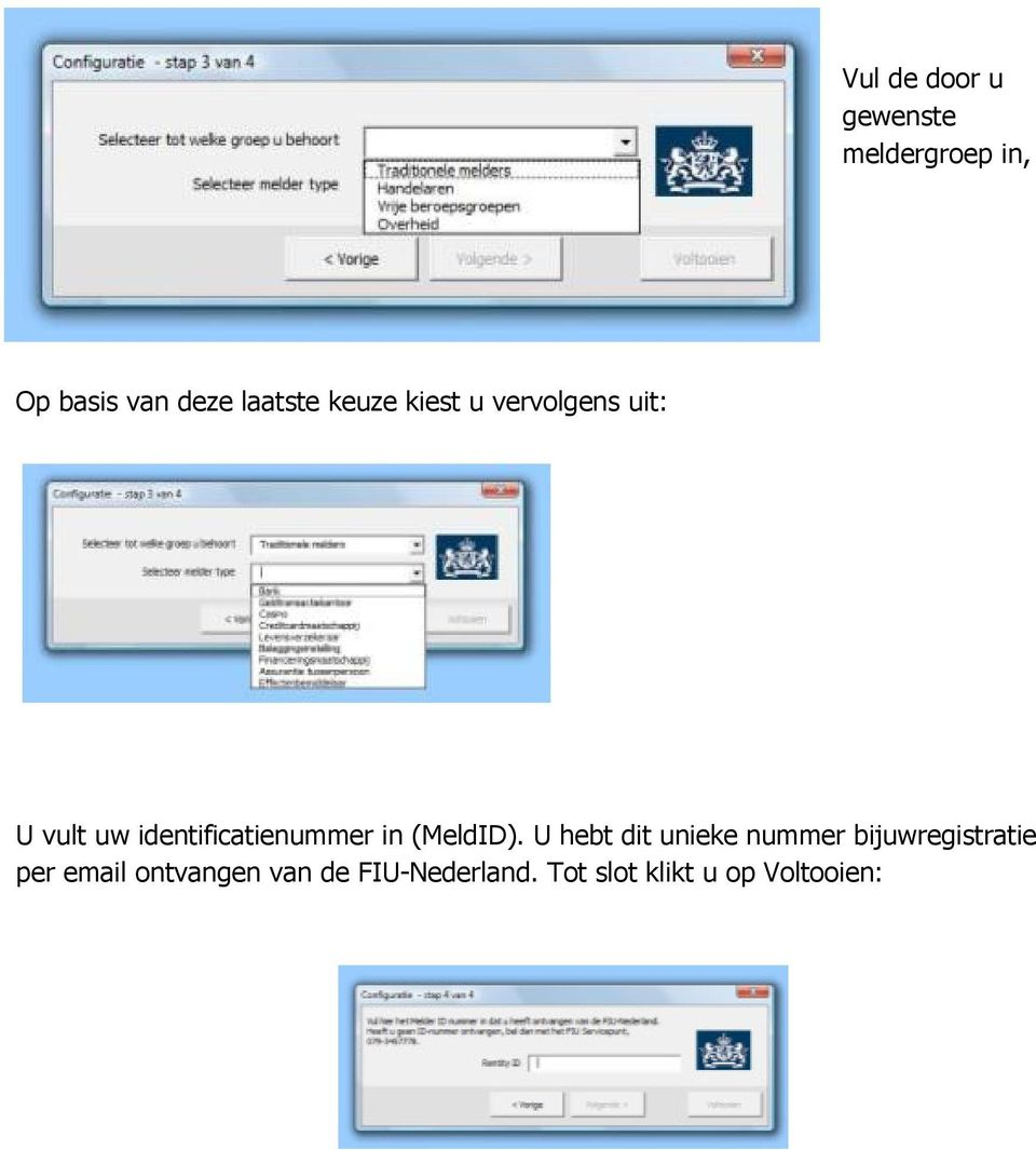 identificatienummer in (MeldID).