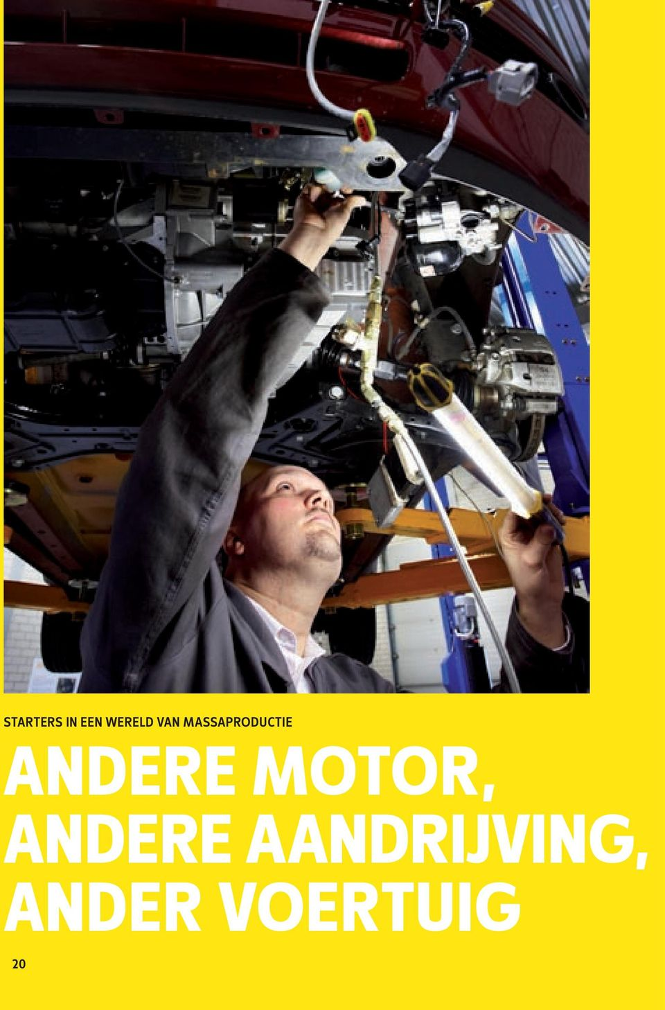 Andere motor, andere