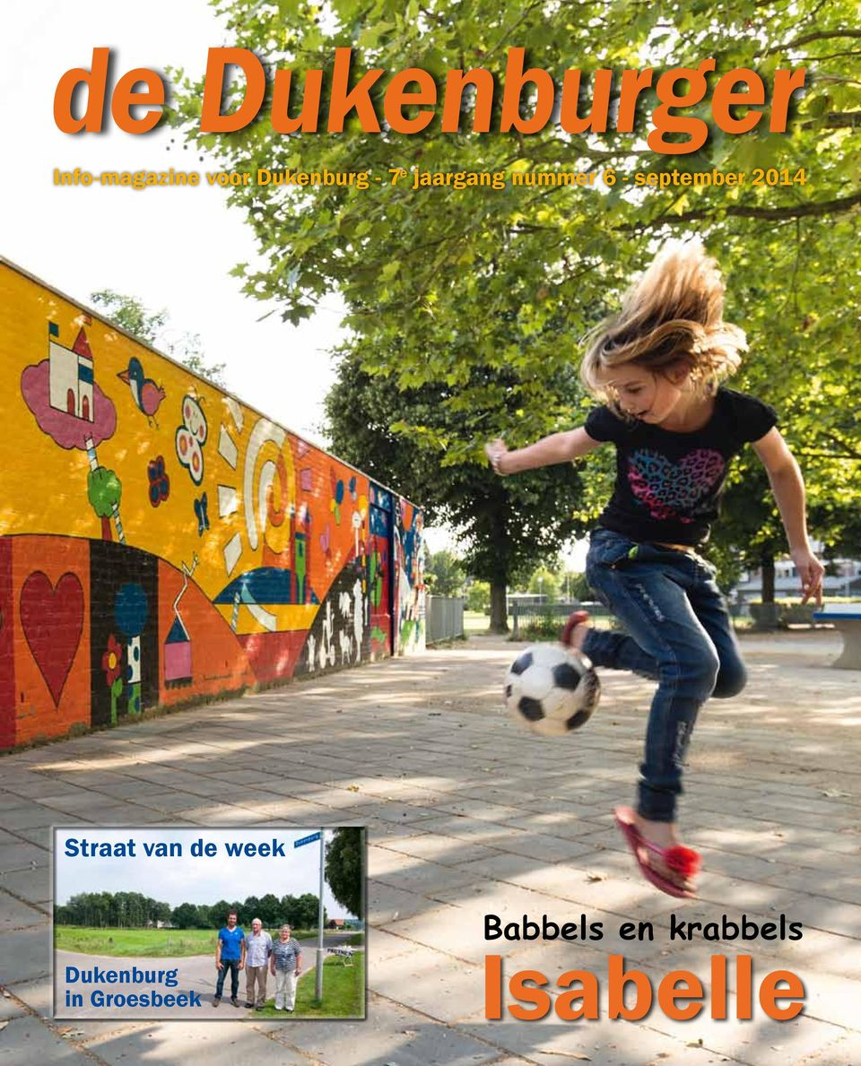 september 2014 Straat van de week