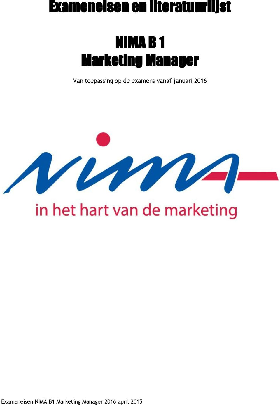 Marketing Manager Van