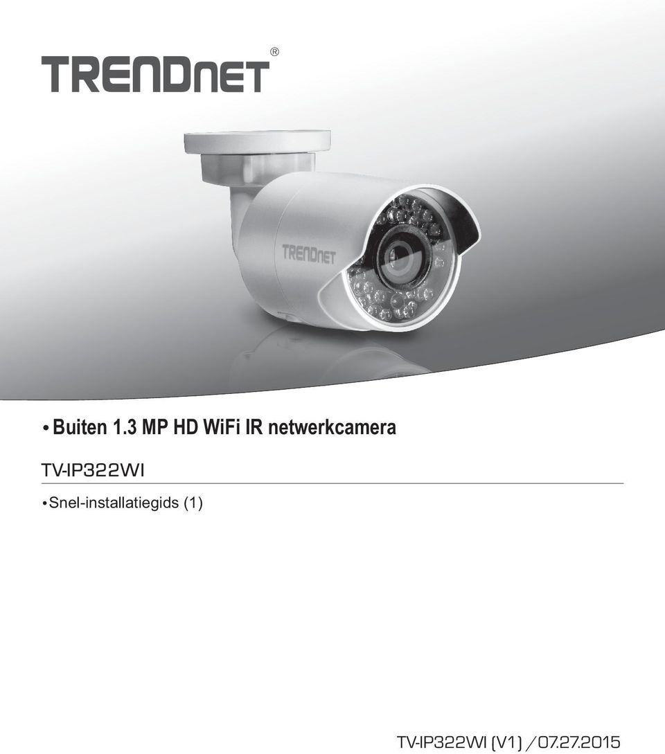 netwerkcamera TV-IP322WI