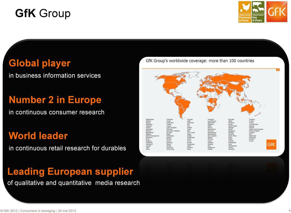 retail research for durables Leading European supplier of qualitative