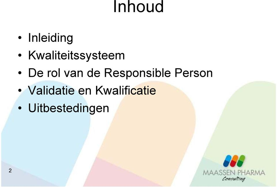 van de Responsible Person