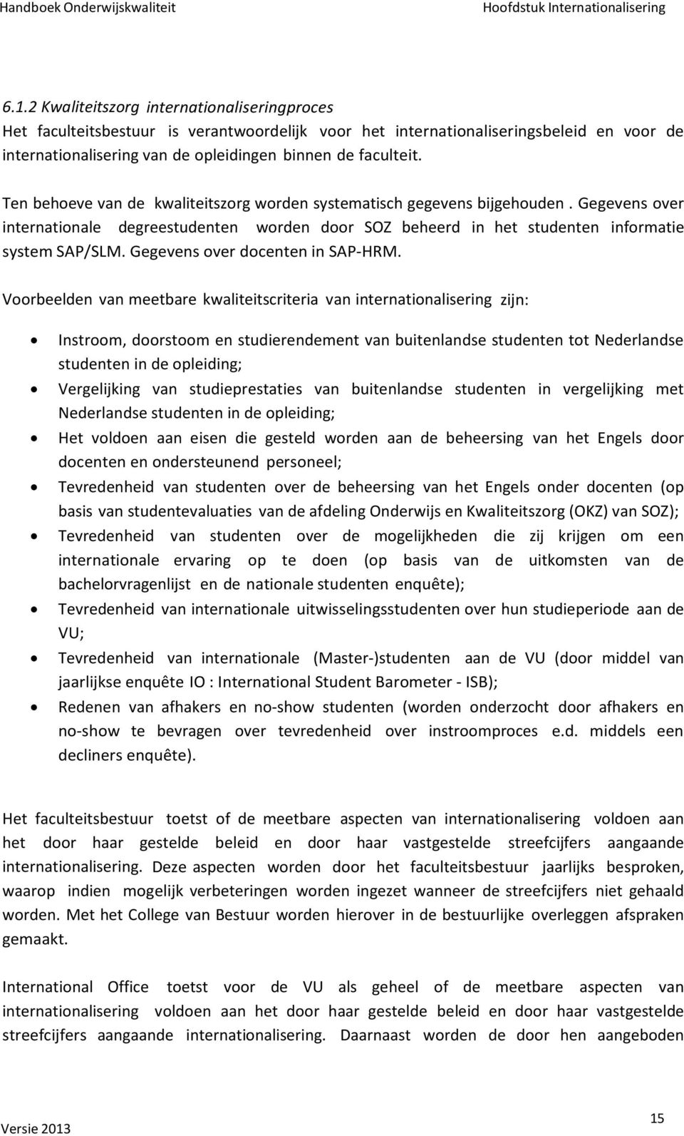 Gegevens over docenten in SAP-HRM.