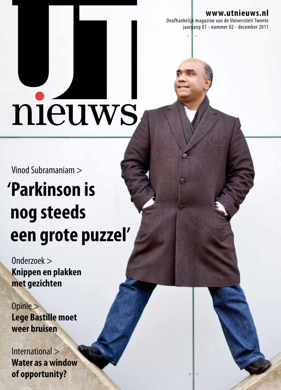 02 - december 2011 Vinod Subramaniam > Parkinson is nog steeds een grote