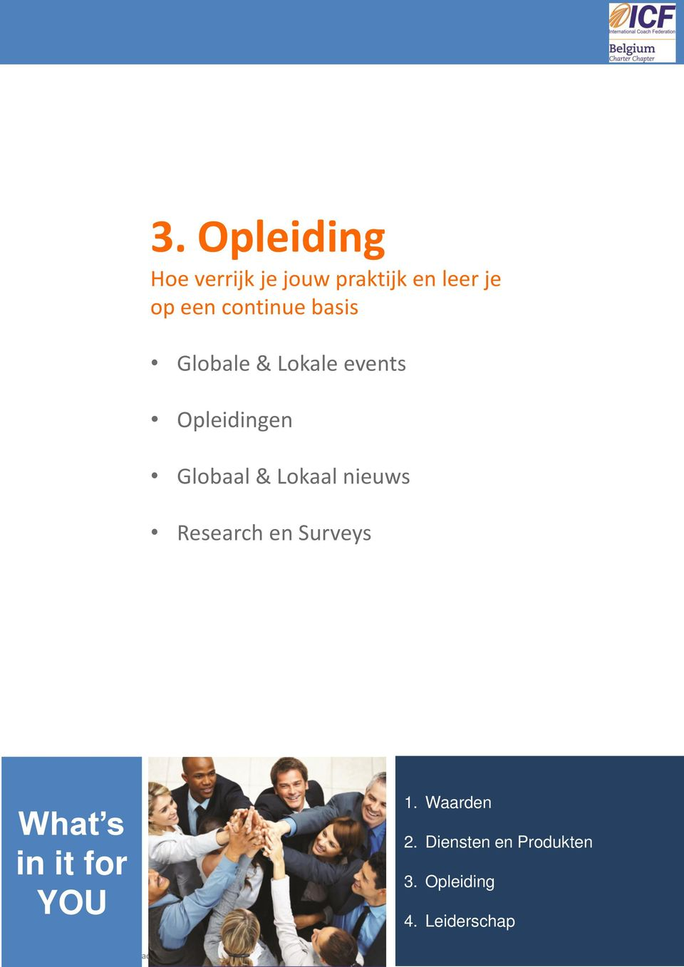 Lokaal nieuws Research en Surveys What s in it for YOU 1.