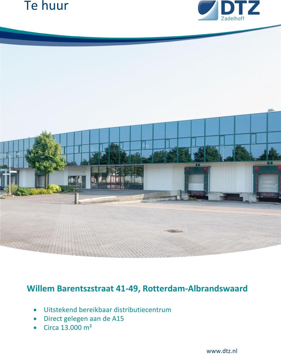 bereikbaar distributiecentrum Direct