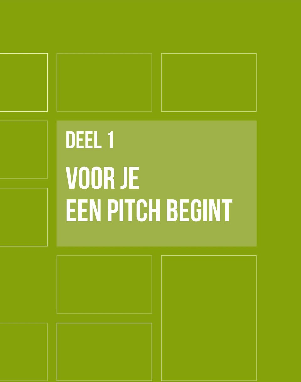 een pitch