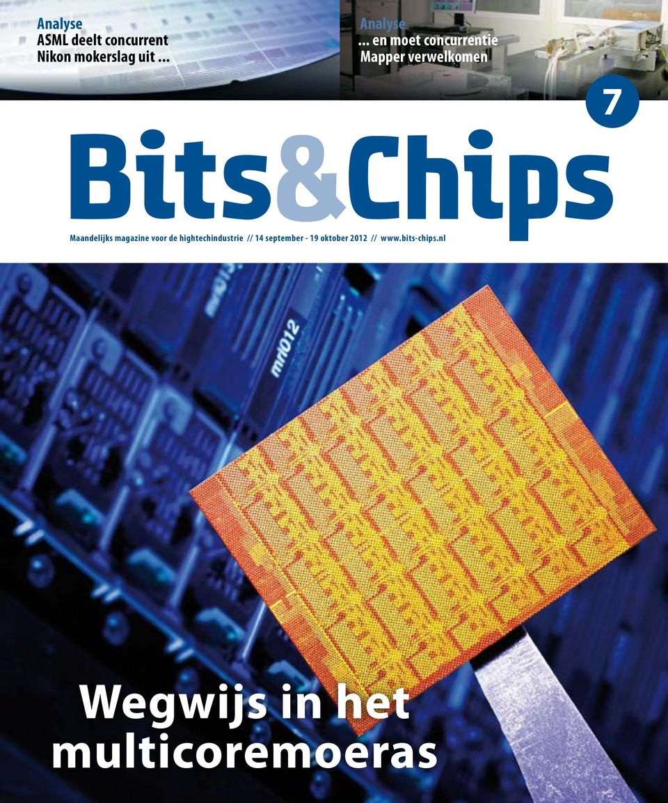 magazine voor de hightechindustrie // 14 september - 19