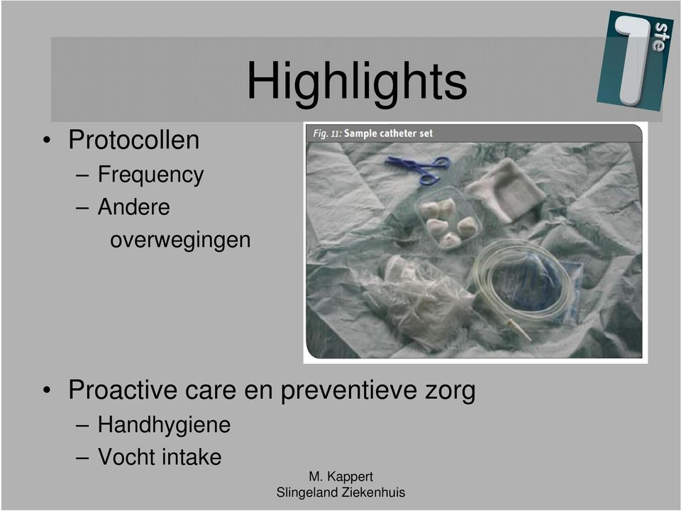 Highlights Proactive care
