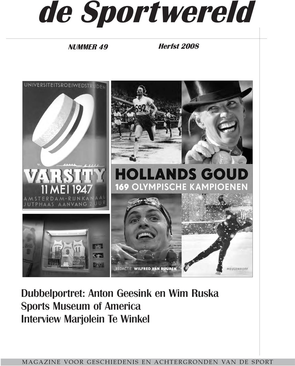 Sports Museum of America Interview Marjolein Te