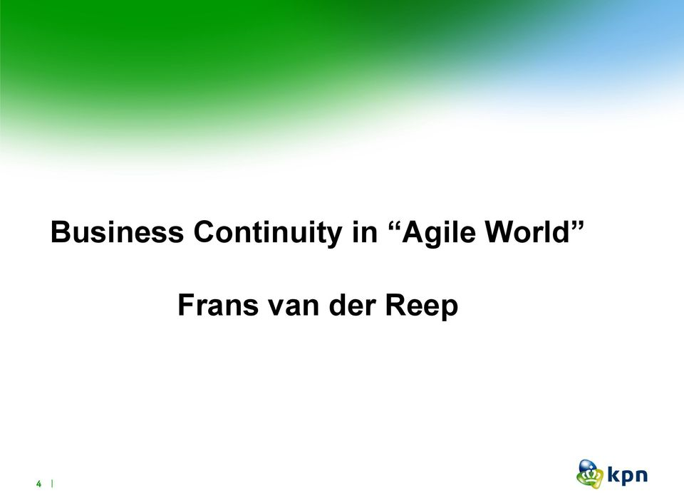 Agile World