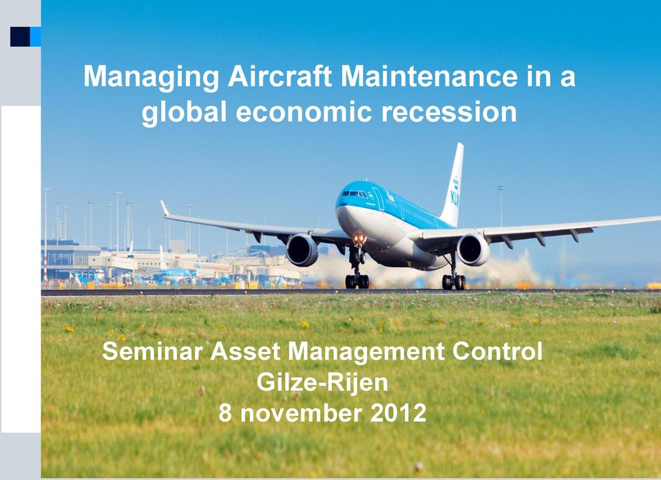 Seminar Asset Management