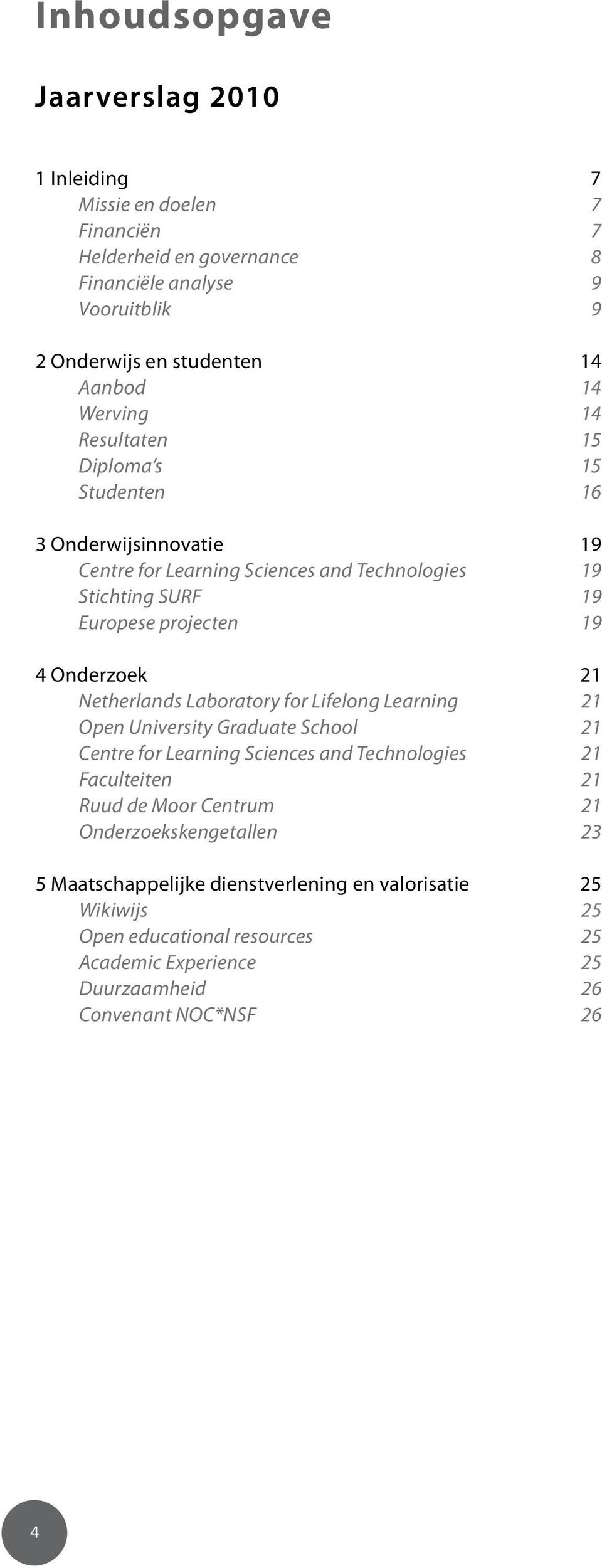 21 Netherlands Laboratory for Lifelong Learning 21 Open University Graduate School 21 Centre for Learning Sciences and Technologies 21 Faculteiten 21 Ruud de Moor Centrum 21