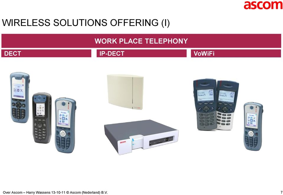 PLACE TELEPHONY DECT