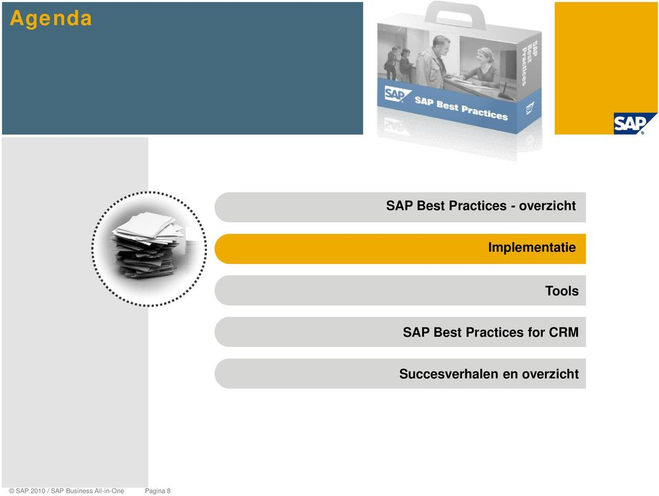 for CRM Succesverhalen en overzicht