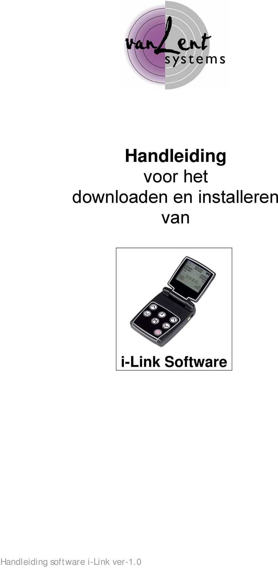 van i-link Software