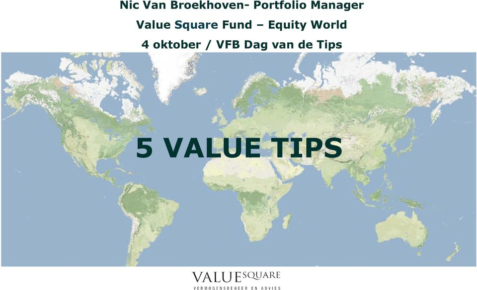Square Fund Equity World 4